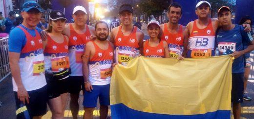 Club Hernán Barreneche en Maraton de Lima 42Km 2017