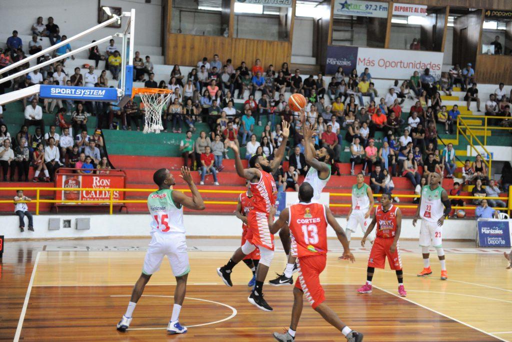 Sabios de Manizales. Equipo de Baloncesto.