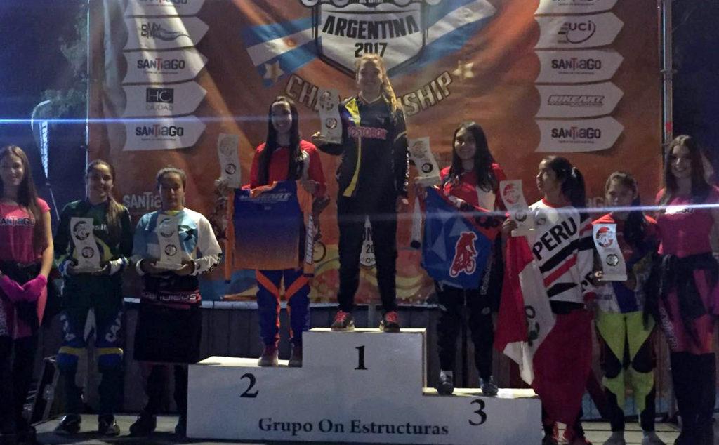 Campeona Panamericana de BMX