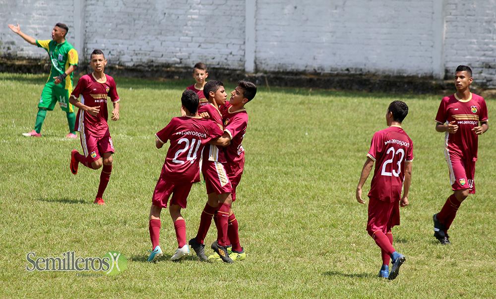 Fútbol Infantil, Zonal Clasificatorio, Fase Semifinal 2018 (12)