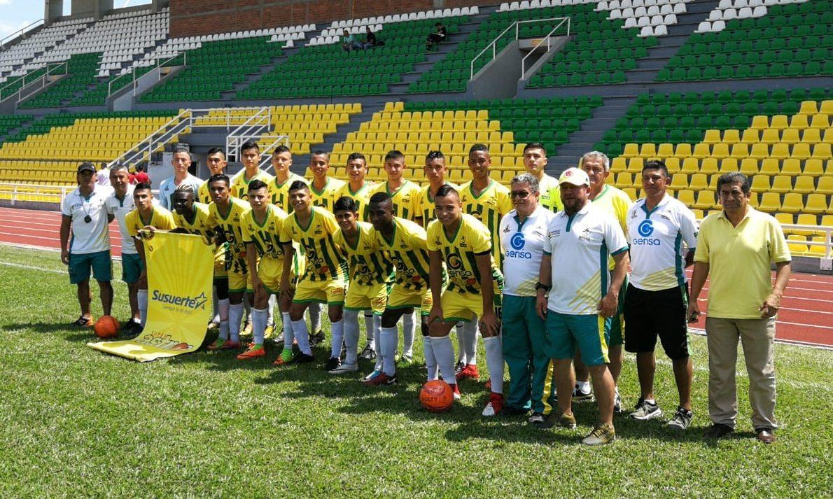 Selección Caldas de fútbol Juvenil 2018