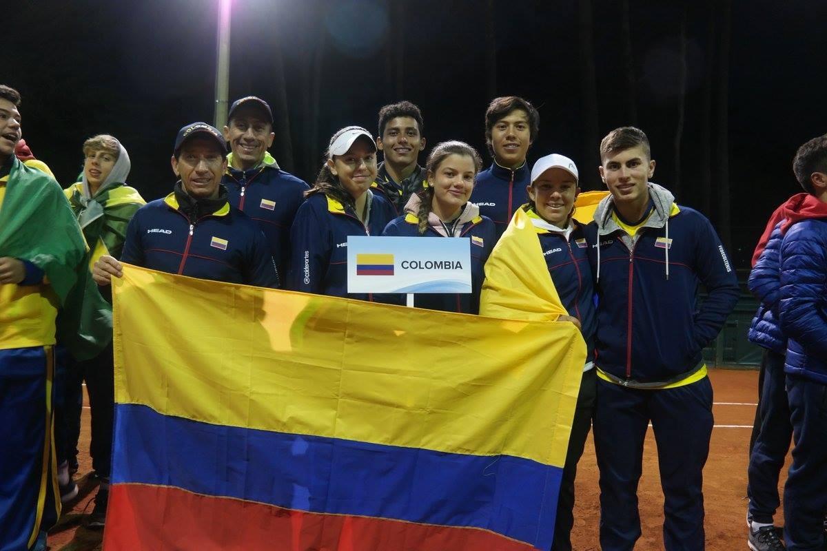 Colombia Sub 16 Tenis de Campo
