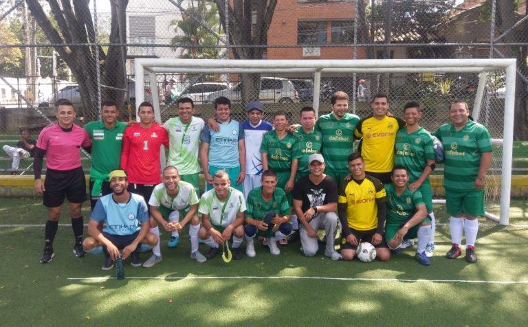 Club de fútbol discapacidad visual sin límites